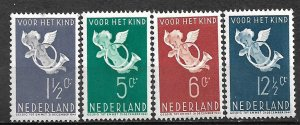 COLLECTION LOT #754 NETHERLANDS  # B90-3 MNH 1936 CV=$45