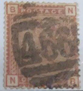 Great Britain Scott Cat #79 (1 Pence Queen Victoria - 1880)