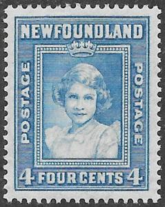 Newfoundland Scott Number 247 VF H