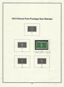 JQ3 5cent PARCEL POST POSTAGE DUE STAMP MNH SINGLE - SCV $24.00  - W53