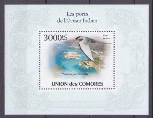 2009 Comoro Islands 2710/B576 Birds 15,00 €