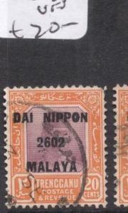 Malaya Jap Oc Trengganu SG J129 VFU (7dgb)