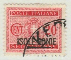Italia Colonie e Possedimenti Grecia ISOLE JONIE 1941 20c Used A8P2F141