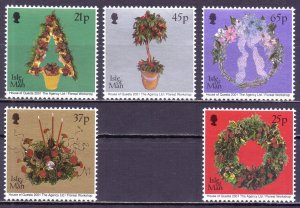 Isle Of Man. 2001. 949-53. Christmas. MNH.