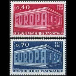 FRANCE 1969 - Scott# 1245-6 Europa Set of 2 NH