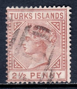 Turks Islands - Scott #49 - Used - SCV $14