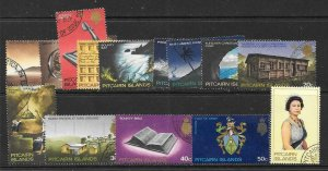PITCAIRN ISLANDS SG94/106b 1969 DEFINITIVES FINE USED
