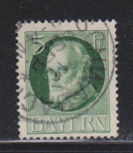 Bavaria, 5pf King Ludwig III (SC# 96) Used