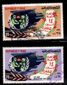 IRAQ Scott 658-659 Used  stamp set
