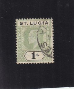 St. Lucia: Sc #48, Used (35824)