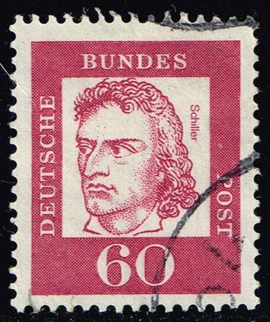 Germany #834 Friedrich von Schiller; Used (0.25)