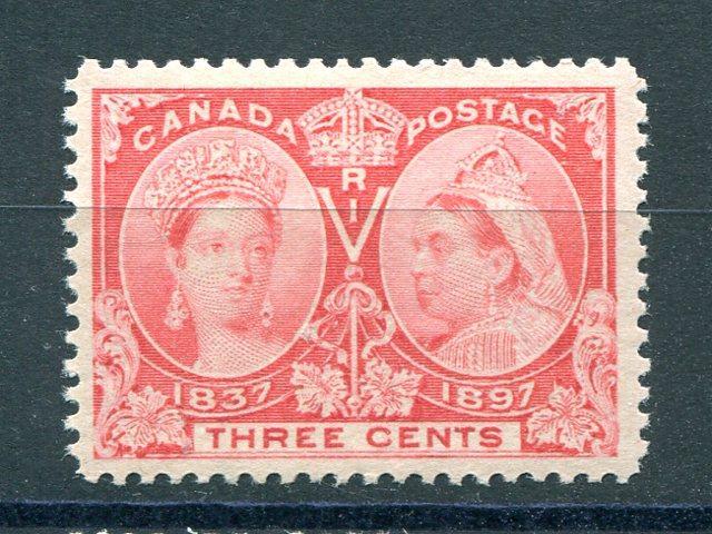 Canada #53  Mint O.G   XF  NH