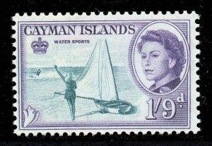 Cayman Islands 1962 QEII 1/9d Water Sports SG 176 MNH