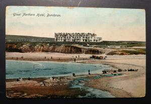 Vintage Great Northern Hotel Co Donegal Ireland Real Picture Postcard Cover