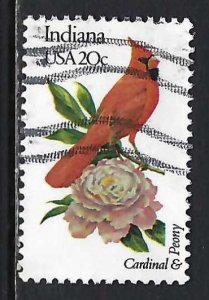 UNITED STATES 1966 VFU BIRD R687-2