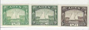 Aden #1-3 Great Condition (1937) (ATH)