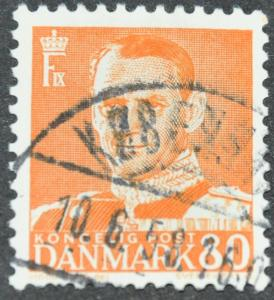 DYNAMITE Stamps: Denmark Scott #339 – USED