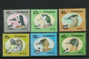 MBC5) Zimbabwe 1988 Birds - Ducks & Geese MUH