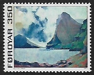 Faroe Islands # 18 - Vidoy & Svinoy - MNH