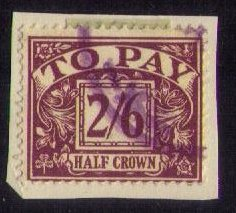 Great Britain Sc J53  Postage Due Used F-VF