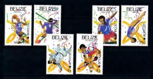 [92143] Belize 1988 Olympic Games Seoul Basketball Judo Hockey  MNH