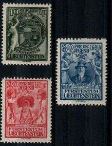 Liechtenstein Scott B11-13 Mint hinged [TE341]