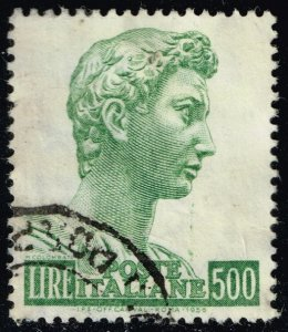 Italy #690 St. George by Donatello; Used (3Stars)