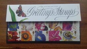 Great Britain 1997 Flowers Mint