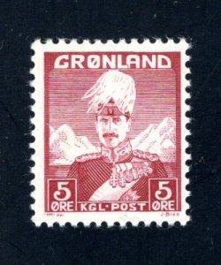 Greenland #2, F/VF, Unused, CV $2.10 ....2510155