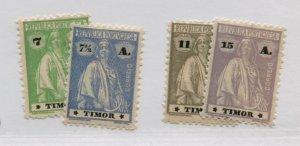 POTUGAL TIMOR  178-79 181 182A  MLH