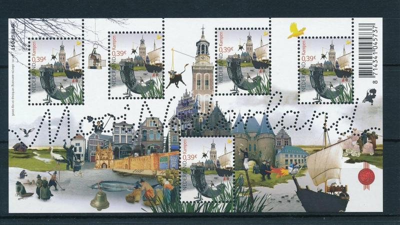 [16545] Netherlands 2006 Beautiful Holland Kampen Birds Fish Sheet MNH