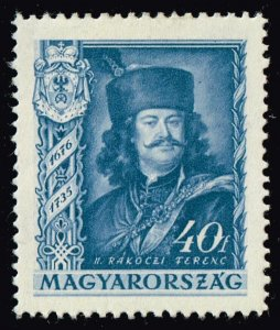 HUNGARY STAMP 1935 The 200th Anniversary of the Death of Prince MH/OG 40F