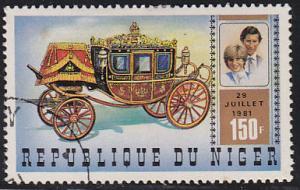Niger 548 Royal Wedding 1981