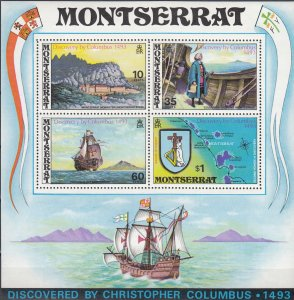 Montserrat, Sc 295a, MNH, 1973, Discovery by Columbus
