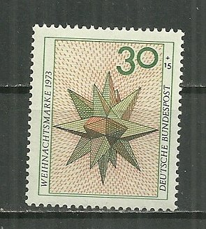 1973 Germany B507 Christmas issue MNH