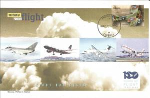100 Years Of Flight First Day Cover - SPAD S.XIII - 2004 liberia Z5508