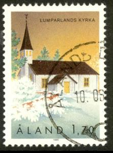 ALAND ISLANDS 1989-94 1.70m ST ANDREW'S CHURCH Pictorial Sc 39 VFU