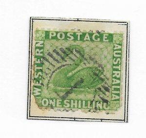 Western Australia #24 Filler Used - Stamp CAT VALUE $140.00