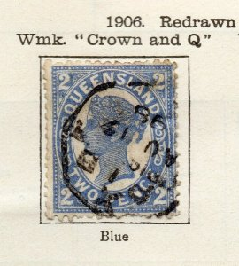 Queensland 1906 Early Issue Fine Used 2d. NW-113713