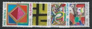 Switzerland B568-B571 (M)