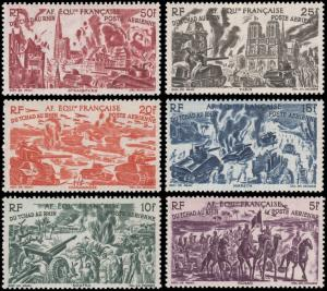 French Equatorial Africa C25-C30 mlh