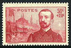 France B63, MNH. Pierre Loti, novelist and naval officer, 1937