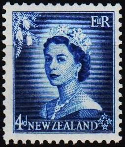 New Zealand. 1953 4d S.G.728 Mounted Mint