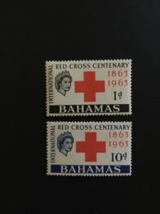 Bahamas #183-84