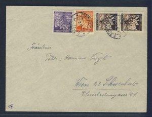 67976- CZECHOSLOVAKIA 1942 - CIRCULATED COVER