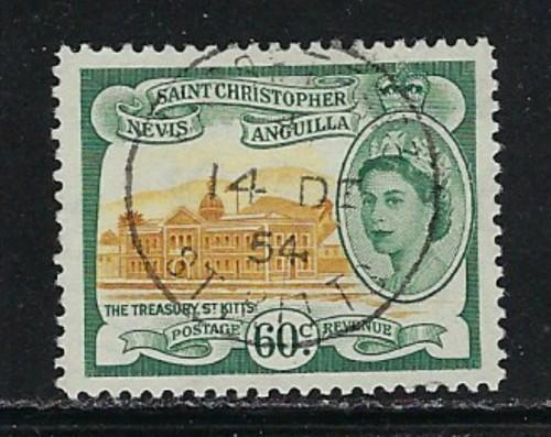 St. Kitts-Nevis 131 Used 1954 issie
