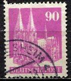 Germany; 1948: Sc. # 657a: O/Used Single Stamp