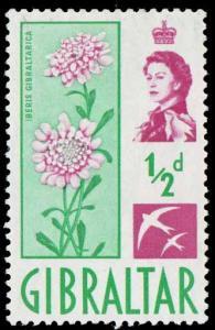 Gibralter SC 147 - Candytuft - MH - 1960