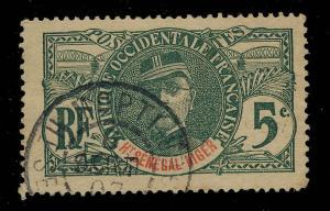 Ht-SENEGAL-&-NIGER - 1907 - CACHET À DATE DE MOPTI SUR 5c FAIDHERBE -PEU COMMUN