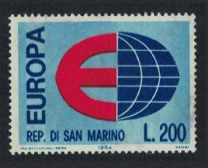 San Marino Europa issue 1964 SG#767
